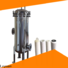 titanium stainless water filter housing with core for food and beverage