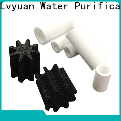 Lvyuan porous sintered filter cartridge rod for food and beverage