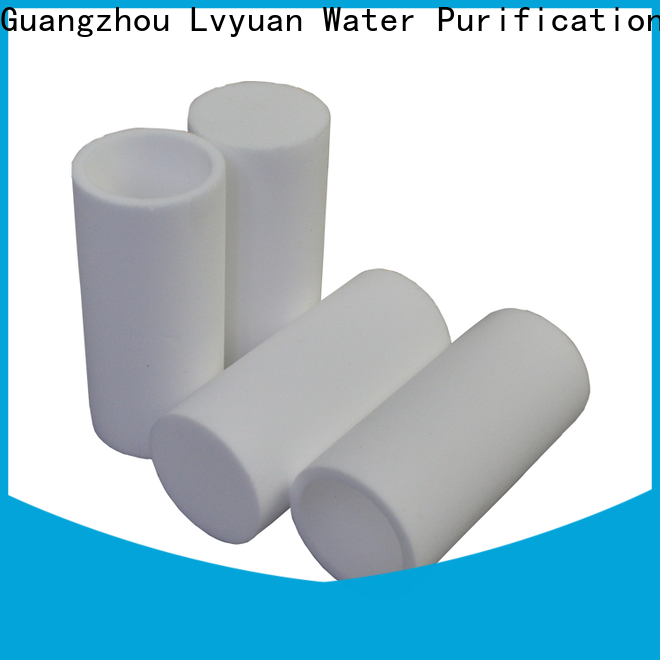 Lvyuan sintered filter cartridge supplier for sea water desalination