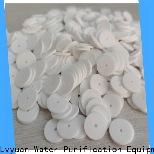 Lvyuan sintered filter wholesale for sea water desalination