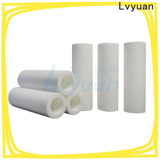 customized pp melt blown filter cartridge manufacturer for food and beverage