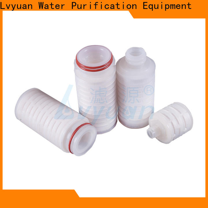 pvdf pleated filter element supplier for diagnostics