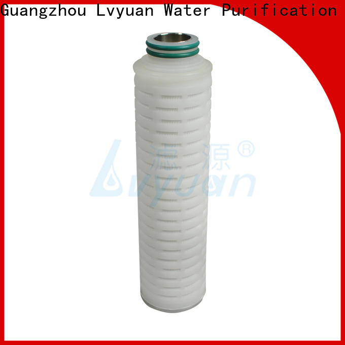 professional water filter cartridge supplier for sale