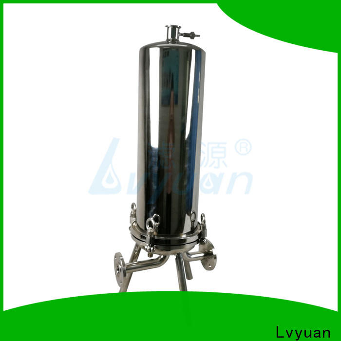 professional stainless steel cartridge filter housing manufacturer for food and beverage