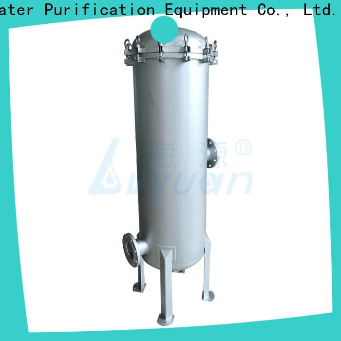Lvyuan ss filter housing manufacturers manufacturer for sea water desalination