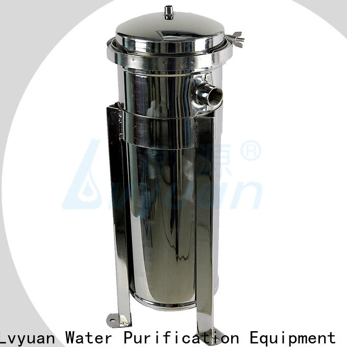 Lvyuan high end ss cartridge filter housing housing for sea water treatment