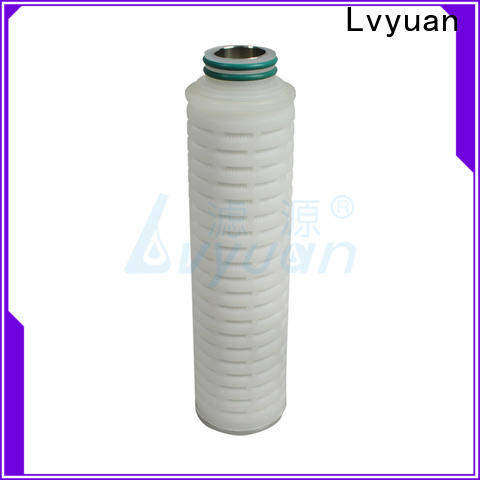 Lvyuan pleated filter manufacturer for sea water desalination