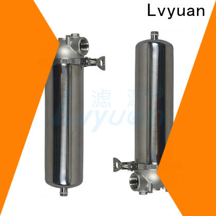 Lvyuan high end stainless steel filter housing manufacturers housing for sea water desalination