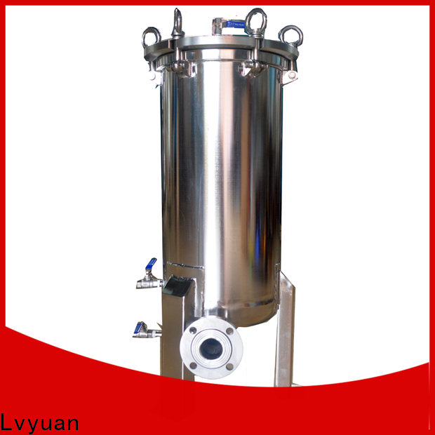 Lvyuan high end ss filter housing manufacturers rod for sea water desalination