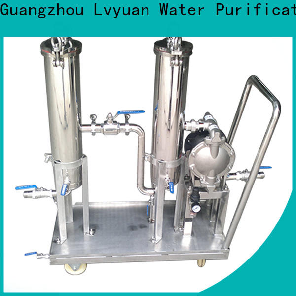 Lvyuan stainless steel water filter housing manufacturer for industry