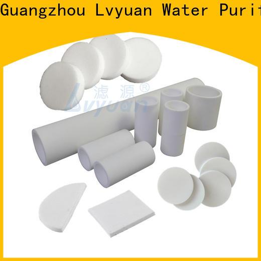 Lvyuan sintered plastic filter rod for industry