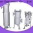 titanium stainless steel bag filter housing housing for sea water desalination