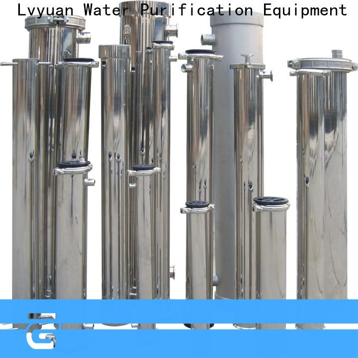 Lvyuan stainless filter housing with core for industry