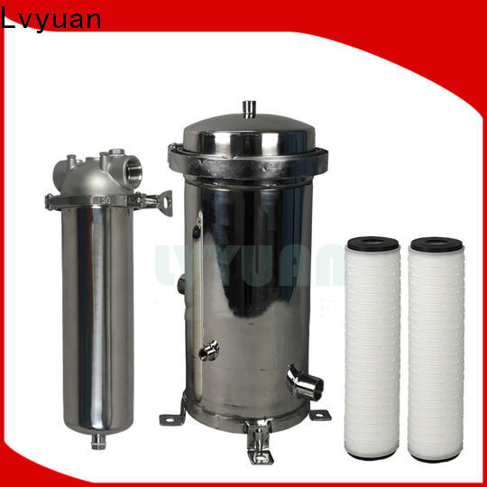 porous stainless steel filter housing manufacturers manufacturer for sea water treatment