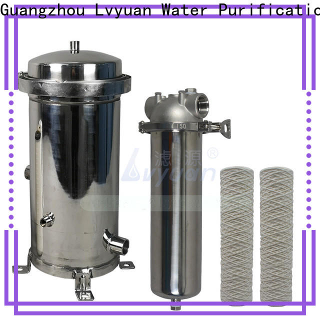 best ss cartridge filter housing with fin end cap for sea water desalination