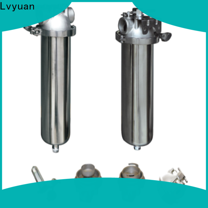 Lvyuan stainless steel filter housing with core for sea water desalination