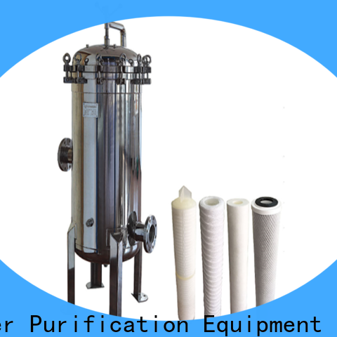 porous ss bag filter housing with fin end cap for industry