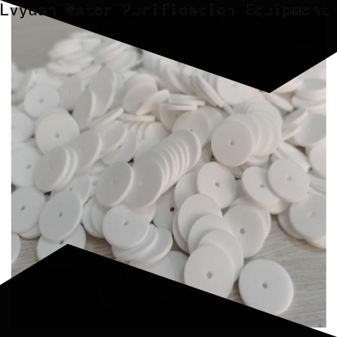 Lvyuan ptfe sintered filter cartridge supplier for sea water desalination