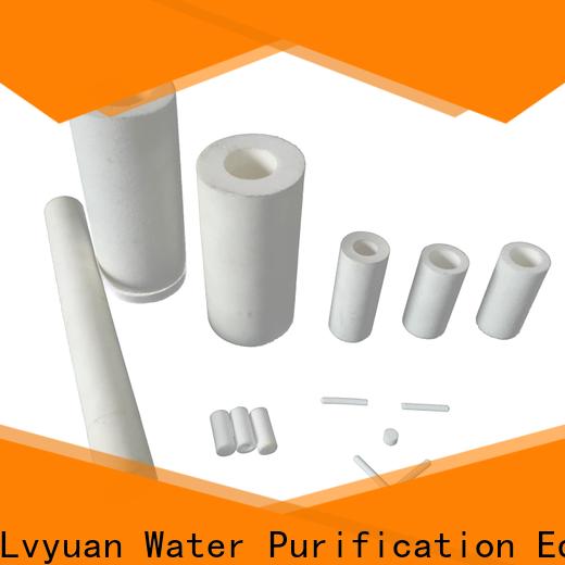 ptfe sintered filter manufacturer for food and beverage