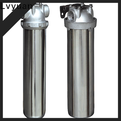 professional stainless steel water filter housing rod for sea water treatment