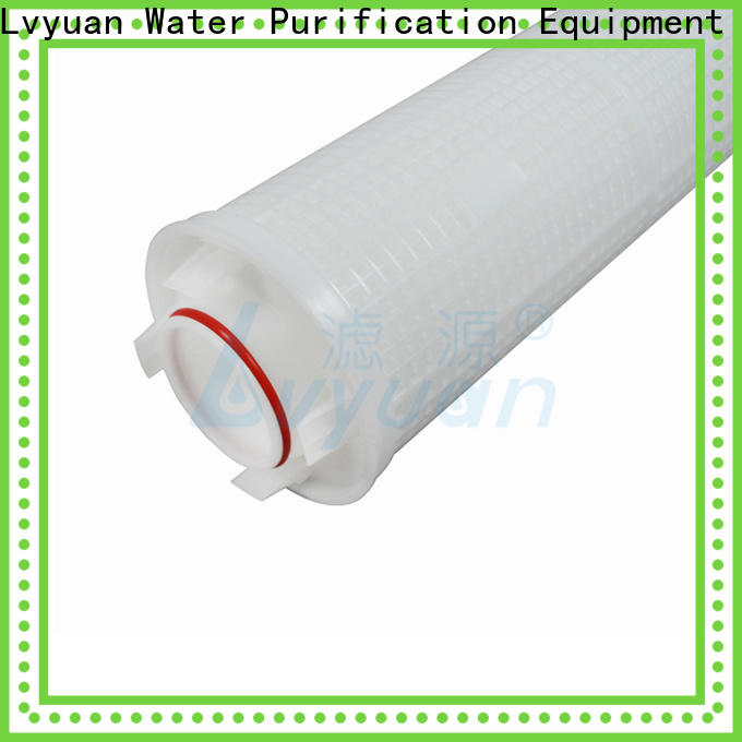 Lvyuan high end high flow water filter cartridge manufacturer for sea water desalination