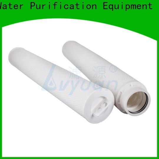 Lvyuan high flow pleated filter cartridge manufacturer for sea water desalination