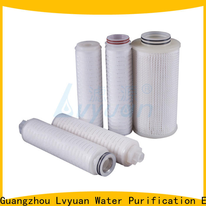 Lvyuan pleated water filters manufacturer for food and beverage
