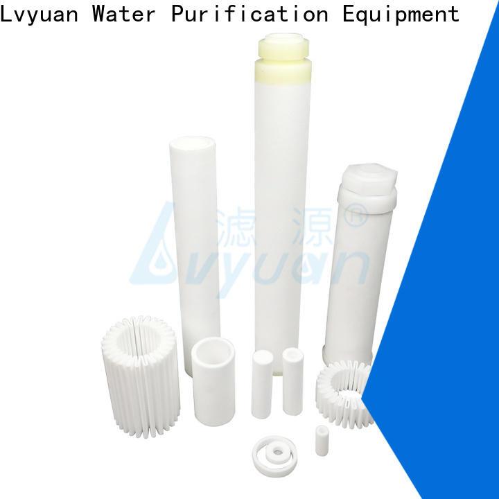 Lvyuan sintered filter suppliers manufacturer for food and beverage