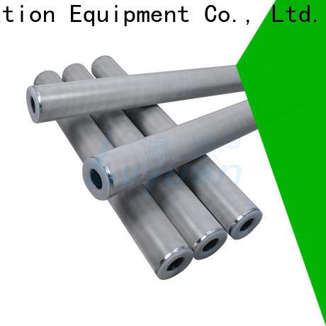 Lvyuan block sintered filter cartridge manufacturer for sea water desalination
