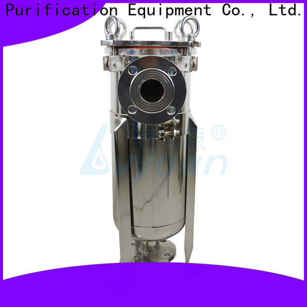 efficient ss filter housing manufacturers with fin end cap for oil fuel