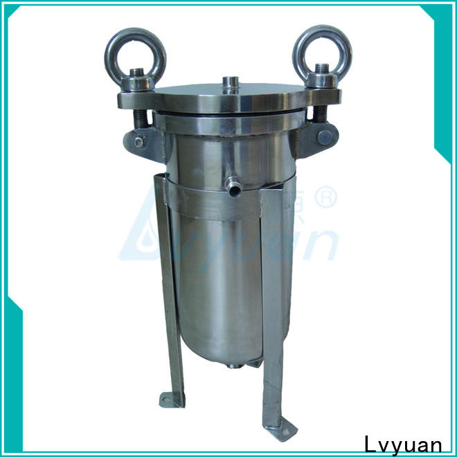 Lvyuan best ss filter housing manufacturers housing for food and beverage