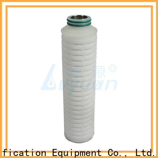 Lvyuan water pleated filter supplier for food and beverage