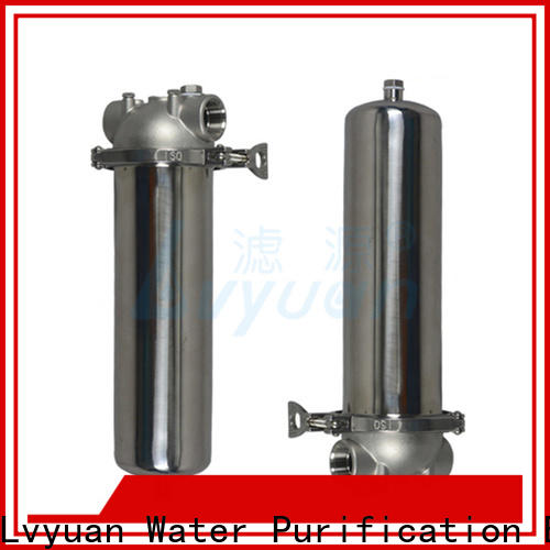 high end ss filter housing manufacturers rod for sea water treatment