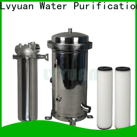 Lvyuan stainless steel filter housing with core for oil fuel