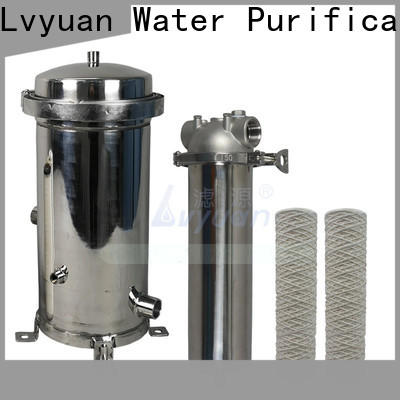 professional ss cartridge filter housing rod for sea water desalination
