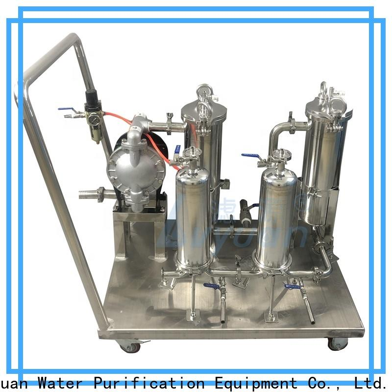 Lvyuan best stainless filter housing manufacturer for industry