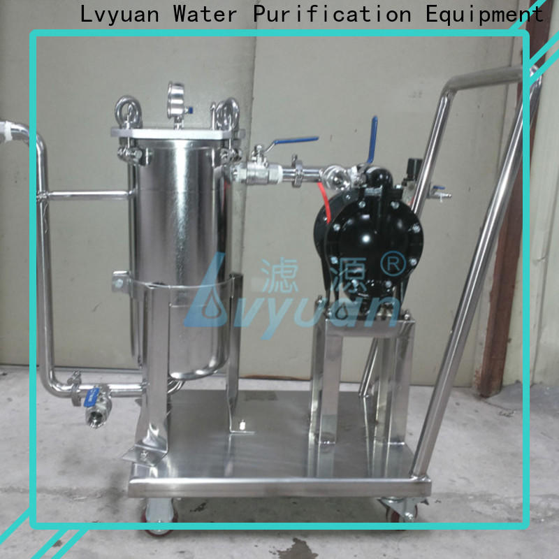 Lvyuan ss filter housing manufacturers with core for sea water desalination