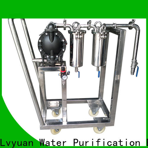 Lvyuan stainless filter housing housing for sea water desalination
