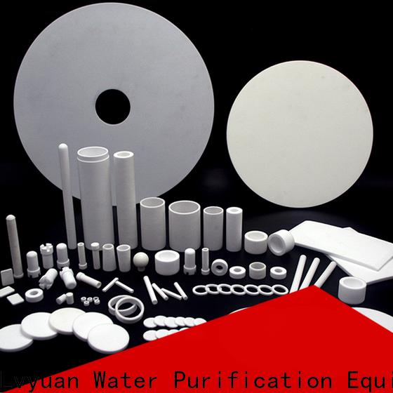 pe sintered filter manufacturer for sea water desalination