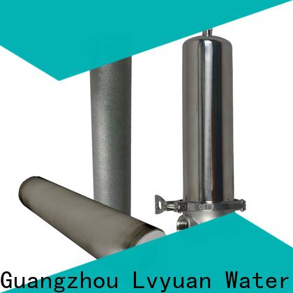 Lvyuan safe filter cartridge supplier for sea water desalination