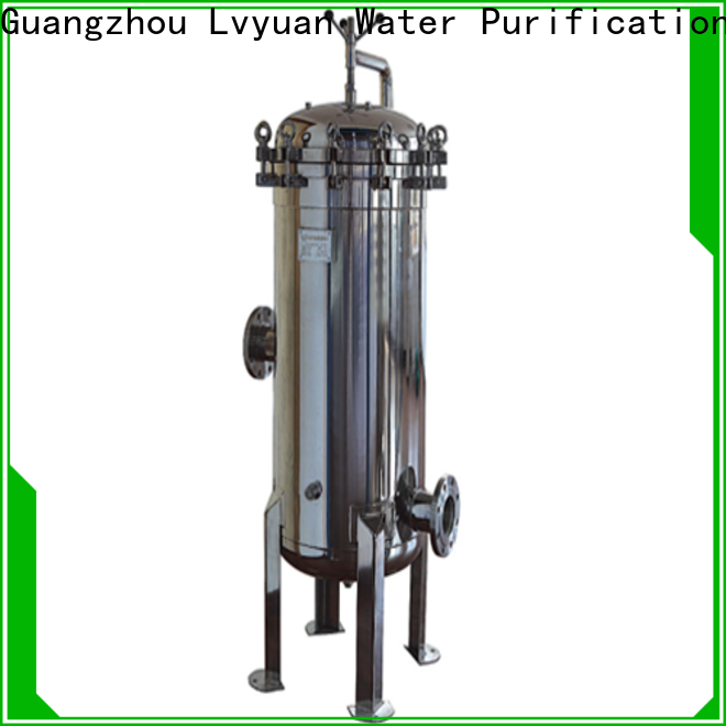high end stainless filter housing rod for sea water desalination