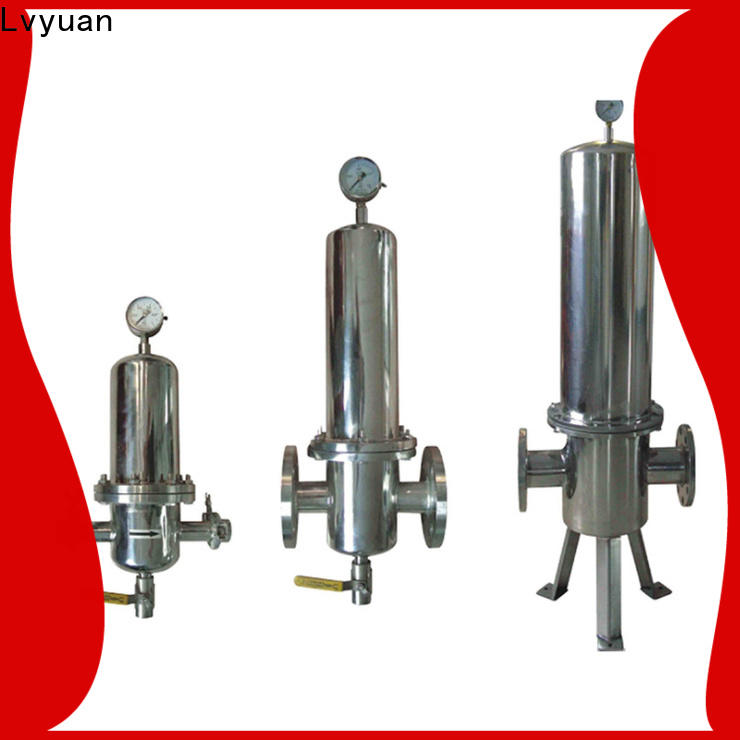 Lvyuan porous ss filter housing manufacturer for food and beverage