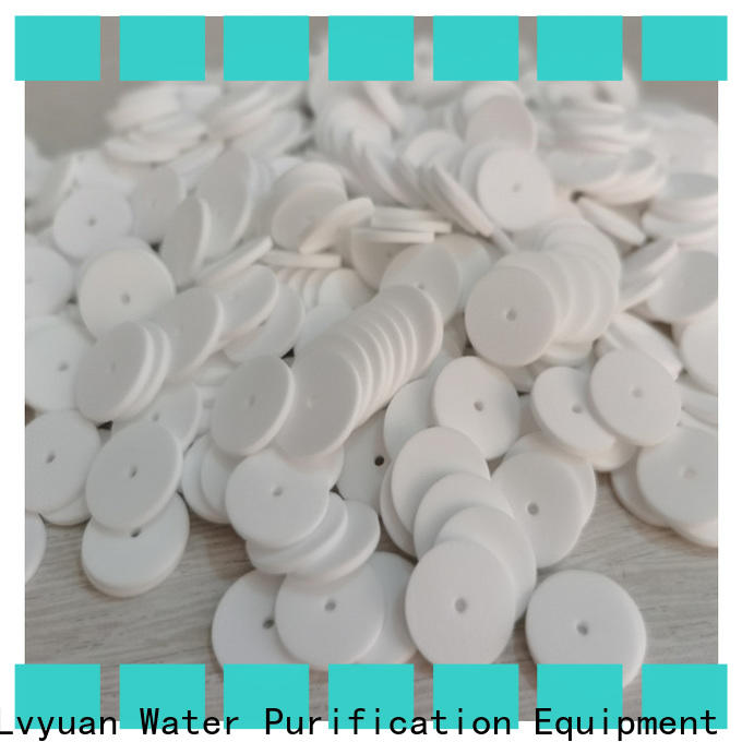Lvyuan professional sintered filter cartridge rod for sea water desalination