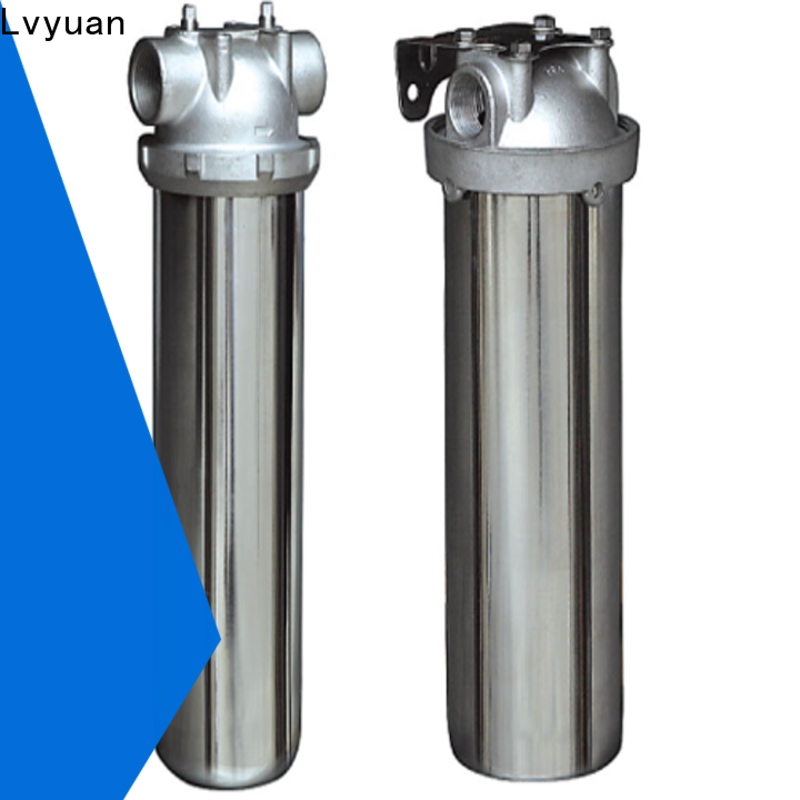 Lvyuan stainless water filter housing housing for food and beverage