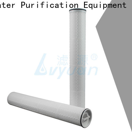 Lvyuan high flow water filter replacement cartridge supplier for industry