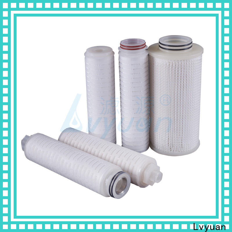 pvdf pleated filter manufacturers manufacturer for food and beverage