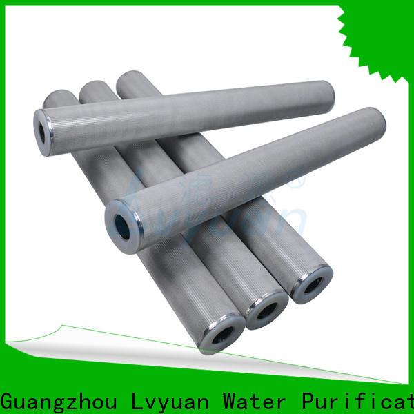 Lvyuan porous sintered plastic filter manufacturer for industry