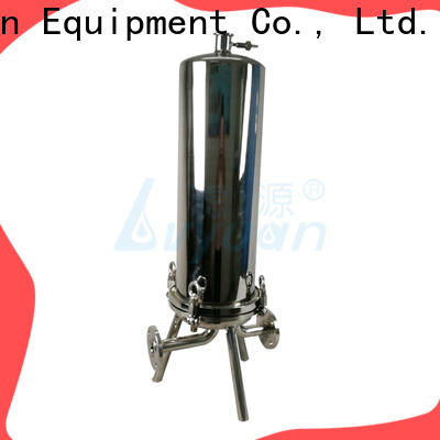 best stainless steel bag filter housing with core for food and beverage