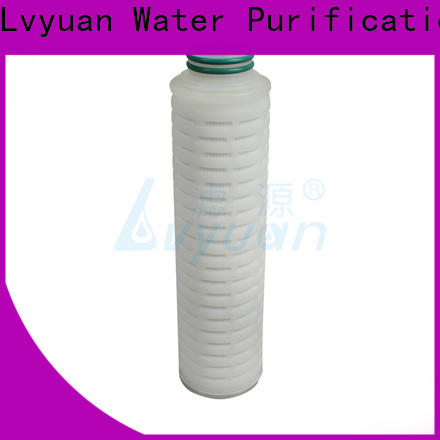 pes pleated filter cartridge suppliers supplier for industry