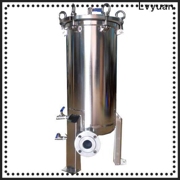 Lvyuan titanium stainless steel filter housing manufacturers with core for oil fuel